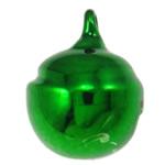 Tunxh Bell varëse, pikturë, e gjelbër, , nikel çojë \x26amp; kadmium falas, 15x12mm, : 2mm, 1000PC/Qese,  Qese