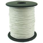 Cord Wax, e bardhë, 1mm, :80Oborr,  PC