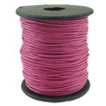 Cord Wax, Pink fuchsia, 1mm, :80Oborr,  PC