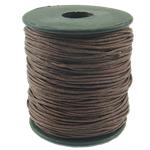 Cord Wax, bojë kafe, 1mm, :80Oborr,  PC