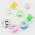 Seed Glass Beads përziera, i përzier, 2x1.90mm, : 1mm,  Qese