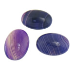 Agat Cabochon, dantella agat, Oval, natyror, shirit, 18x25x7mm, 20PC/Qese,  Qese