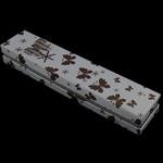 Box karton Gjerdan, Drejtkëndësh, e bardhë, 212x46x31mm, 50PC/Shumë,  Shumë