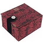 Gjerdan saten Box, with Velveteen, Drejtkëndësh, 72x82x49mm, 10PC/Shumë,  Shumë