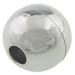 Stainless çelikut kapje magnetik, Stainless Steel, Round, 12.50x13mm, : 4mm, 20Sets/Shumë,  Shumë