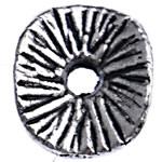 Washers Zink Alloy bizhuteri, Alloy zink, Kthesë, Ngjyra antike argjendi praruar, asnjë, , nikel çojë \x26amp; kadmium falas, 9x8x1.50mm, : 1.5mm, 3330PC/Qese,  Qese