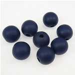 Beads druri, Round, i lyer, 14mm, : 3.5mm, 1000PC/Qese,  Qese