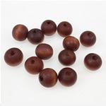 Beads druri, Round, i lyer, kuqe të errët, 11x12mm, : 3mm, 940PC/Qese,  Qese