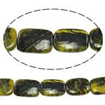 Regenbogen Venen Perlen, bunte Venen Stein, Rechteck, natürlich, 17x26x7mm, Bohrung:ca. 1.5mm, ca. 16PCs/Strang, verkauft per ca. 16 ZollInch Strang