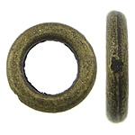 Alloy zink Jump Rings, Petull e ëmbël në formë gjevreku, Ngjyra antike bronz i praruar, asnjë, , nikel çojë \x26amp; kadmium falas, 8x8x1.50mm, : 5mm, 2500PC/KG,  KG