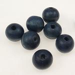 Beads druri, Numërator, i lyer, blu të errët, 9x10mm, : 3mm, 1665PC/Qese,  Qese