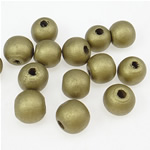 Beads druri, Numërator, i lyer, të verdhë të artë, 11x12mm, : 3.5mm, 1135PC/Qese,  Qese