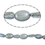 Beads Ovale Crystal, 12-16mm, : 1.2-1.5mm, :15.5Inç, 20Fillesat/Shumë,  Shumë