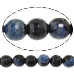 Natyrore kërcitje Beads Zjarri agat, YouTube Fire agat, Round, natyror, 8mm, : 1mm, : 15Inç, 10Fillesat/Shumë,  Shumë