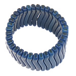 Fashion Bracelets Turquoise, Bruz Natyrore, blu, 6.50x32x6.80mm, : 7.6Inç, 30Fillesat/Shumë,  Shumë