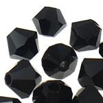 Swarovski Crystal Beads, Bicone, Reaktiv, 6mm, : 1mm, 50PC/Qese,  Qese