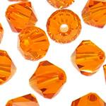 Swarovski Crystal Beads, Bicone, Zjarri Opal, 3mm, : 1mm, 50PC/Qese,  Qese