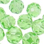 Swarovski Crystal Beads, Round, Peridot, 3mm, : 1mm, 50PC/Qese,  Qese