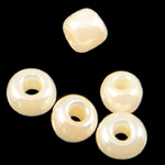 Lustered Glass Beads farë, Seed Glass Beads, 2x1.90mm, : 1mm,  Qese