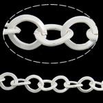 Zinxhiri Iron Oval, Hekur, electrophoresis, e bardhë, , nikel çojë \x26amp; kadmium falas, 8x8.80x1.60mm, :25m,  PC