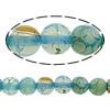 Natürliche Regenbogen Achat Perlen, rund, verschiedene Größen vorhanden, Bohrung:ca. 1-1.2mm, Länge:ca. 15.8 ZollInch, verkauft von Menge