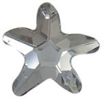 Swarovski Crystal Pendants, Yll, Greige, 31x29x8mm, : 1.5mm,  PC