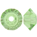 Swarovski Crystal Beads, Bicone, Peridot, 3.50x6mm, : 1mm, 50PC/Qese,  Qese