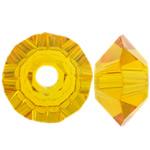 Swarovski Crystal Beads, Bicone, Diell, 3.50x6mm, : 1mm, 50PC/Qese,  Qese