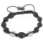 Crystal Shamballa Bracelets, Argjilë, 10mm, 8mm, : 12Inç, 20Fillesat/Shumë,  Shumë