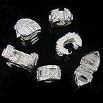 Tunxh European Clip, i praruar, i përzier, ngjyra të përziera, , nikel çojë \x26amp; kadmium falas, 8-11x10-11x6-8mm, : 3mm, 100PC/Qese,  Qese