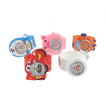 Byzylyk Moda Rights Watch, Silicone, 31-50x31-60mm, 22mm, : 9Inç, 10PC/Shumë,  Shumë