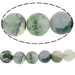 Baum Achat Perlen, Baumachat, rund, 8mm, Bohrung:ca. 1mm, Länge:ca. 15 ZollInch, 10SträngeStrang/Menge, ca. 47PCs/Strang, verkauft von Menge