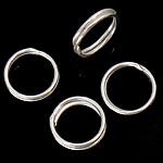 925 Sterling Silver Ring Tjetri, Petull e ëmbël në formë gjevreku, argjend praruar vërtetë, 7.50x7.50x0.50mm, 50PC/Shumë,  Shumë