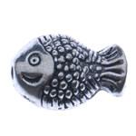 Beads Alloy zink Kafshëve, Ngjyra antike argjendi praruar, asnjë, , nikel çojë \x26amp; kadmium falas, 7x10x5mm, : 1mm, 1420PC/KG,  KG