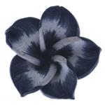 Beads polimer balta, Polymer Clay, Lule, asnjë, e zezë, 20x19x18mm, : 1mm, 100PC/Qese,  Qese