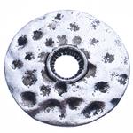 Washers Zink Alloy bizhuteri, Alloy zink, Round Flat, Ngjyra antike argjendi praruar, asnjë, , nikel çojë \x26amp; kadmium falas, 25x4mm, : 5mm, 280PC/Qese,  Qese