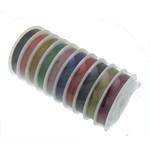 Tiger Wire Tail, ngjyra të përziera, 0.38mm, 10PC/Shumë,  Shumë
