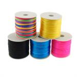 Cord Silk, Mëndafsh, ngjyra të përziera, 1mm, 5PC/Shumë,  Shumë