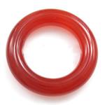 Pendants Red agat, Petull e ëmbël në formë gjevreku, 22x22mm, : 13.5mm, 20PC/Qese,  Qese