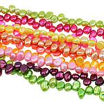 Barok Beads kulturuar Pearl ujërave të ëmbla, Pearl kulturuar ujërave të ëmbla, ngjyra të përziera, 8-9mm, : 0.8mm, :15Inç, 10Fillesat/Qese,  Qese