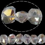 Imitim Swarovski Crystal Beads, Kristal, Shape Tjera, asnjë, imitim kristal Swarovski & makinë faceted, asnjë, 13x10x8mm, : 1mm, 100PC/Shumë,  Shumë