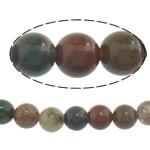 Manik-manik batu akik India alami, Putaran, 4mm, : 16Inci, 10Helai/Banyak,  Banyak