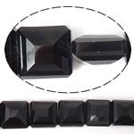 Imitim Swarovski Crystal Beads, Kristal, Katror, asnjë, imitim kristal Swarovski & makinë faceted, Reaktiv, 14x14x8mm, : 1mm, 100PC/Shumë,  Shumë