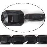 Imitim Swarovski Crystal Beads, Kristal, Drejtkëndësh, asnjë, imitim kristal Swarovski & makinë faceted, Reaktiv, 18x13x7mm, : 1mm, 100PC/Shumë,  Shumë