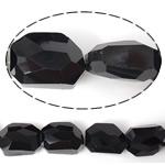Imitim Swarovski Crystal Beads, Kristal, Shape Tjera, asnjë, imitim kristal Swarovski & makinë faceted, Reaktiv, 19x14x11mm, : 1mm, 100PC/Shumë,  Shumë