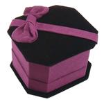 Kutia Velveteen Ring, Drejtkëndësh, 60x65x40mm, 25PC/Shumë,  Shumë