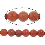 Beads Natyrore Coral, Grass Coral, Round, sintetik, i kuq, 6mm, : 1mm, : 16Inç, 10Fillesat/Shumë,  Shumë