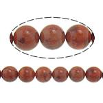 Beads Natyrore Coral, Grass Coral, Round, sintetik, i kuq, 15mm, : 1mm, : 16Inç, 12Fillesat/Shumë,  Shumë