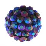 Beads diamant i rremë Rrëshirë, Rrëshirë diamant i rremë, Daulle, asnjë, 14x16mm, : 3mm, 100PC/Qese,  Qese