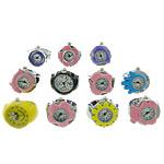 Shikojnë unazë gishti, Alloy zink, smalt, 18-22x18-21mm, 14-17mm, 10PC/Shumë,  Shumë